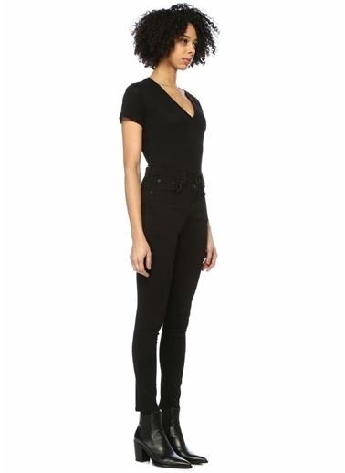 Rag&Bone Skinny Fit Yüksek Bel Jean Pantolon Siyah